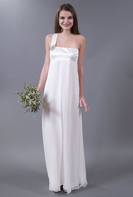 I do take two casual wedding gowns with simple style for for Simple 2nd wedding dresses