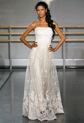 Claire Pettibone Alexandra wedding dress