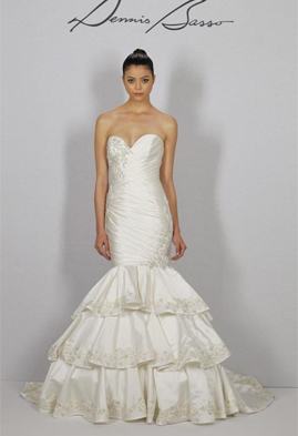Dennis Basso 1142 wedding dress