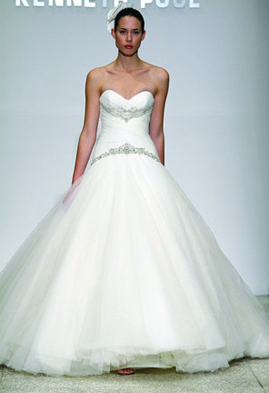 Kenneth Pool Harmony wedding dress