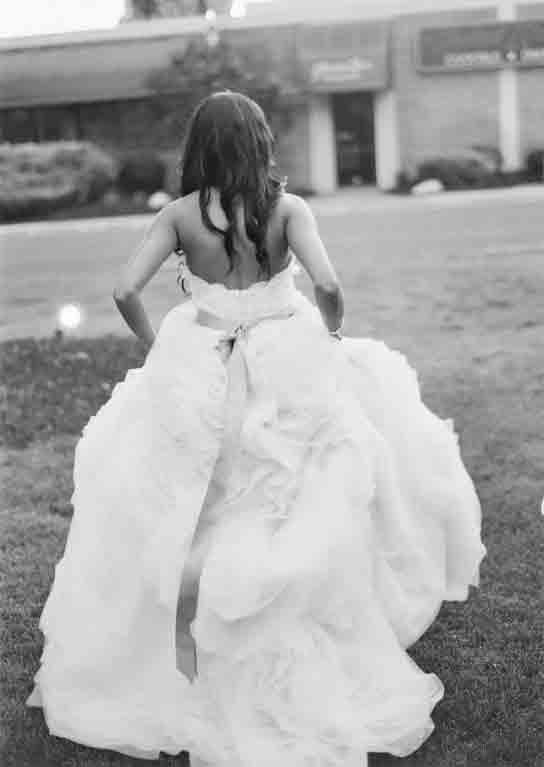 Lazaro 3100 wedding dress