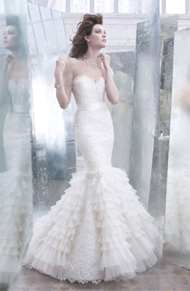 Lazaro 3258 wedding dress