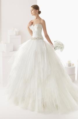 Rosa Clara Castro wedding dress