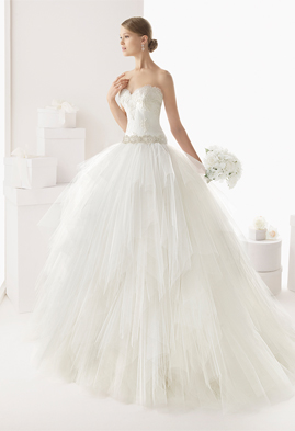 Rosa Clara Castro wedding dress