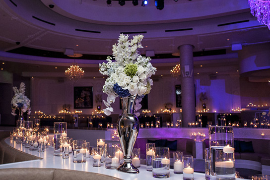 Intimate Elegant Candle Inspiration Preowned Wedding