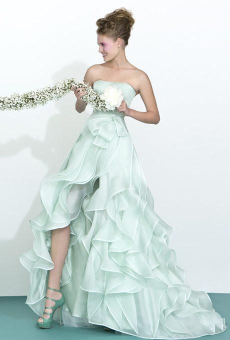 Mint Green Wedding Gowns