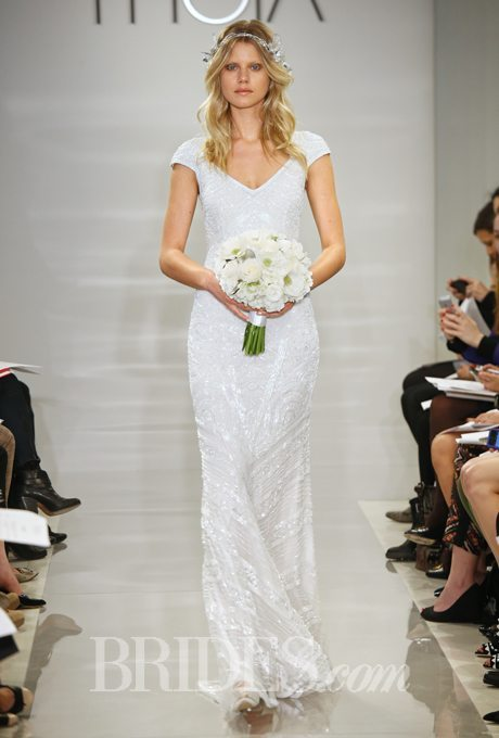 Beaded Gowns for Older Brides
