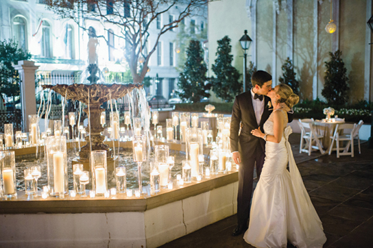 Romantic Candlelight Wedding Inspiration | PreOwnedWeddingDresses.com