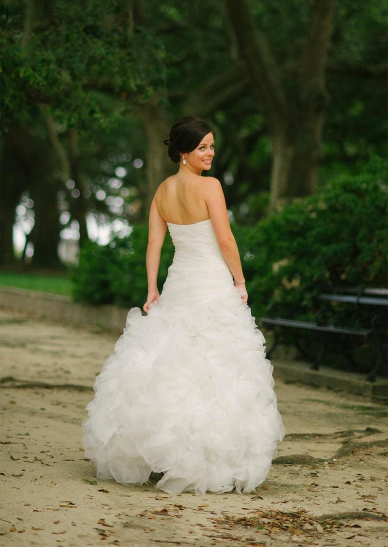 Monique Lhuillier Bliss 1213 Wedding Dress