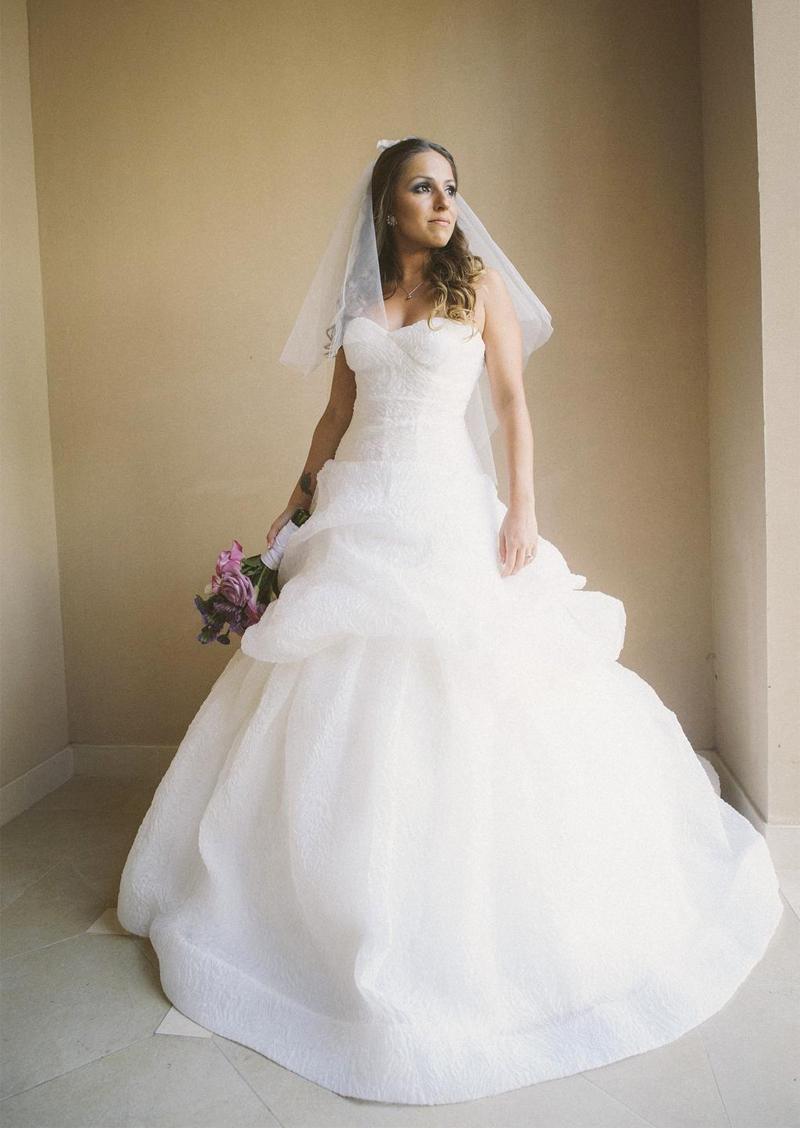 Monique Lhuillier Bellflower Wedding Dress