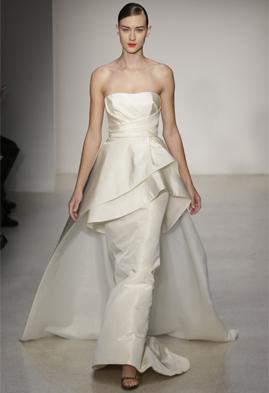 Amsale Hudson wedding dress