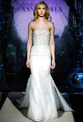 Anne Bowen Kingsley wedding dress