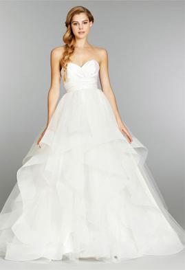 Hayley Paige HP6358 wedding dress