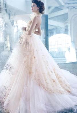 Lazaro LZ3315 wedding dress