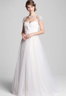 Reem Acra Roses wedding dress