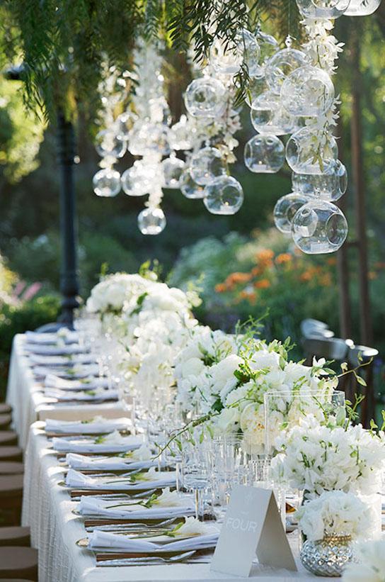 Long Tables at Weddings | PreOwnedWeddingDresses.com