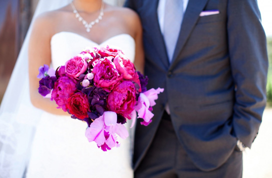 Bright And Bold Wedding Bouquets Preowned Wedding Dresses