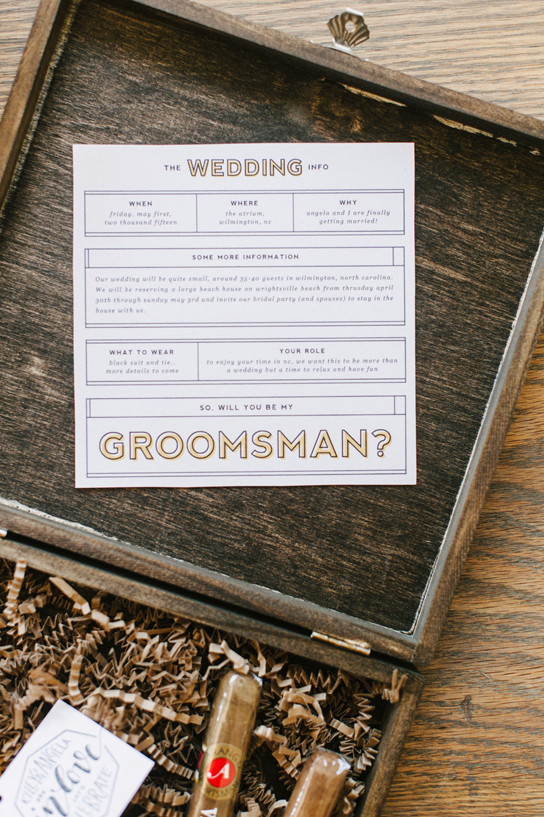 Ask the Groomsmen | PreOwnedWeddingDresses.com