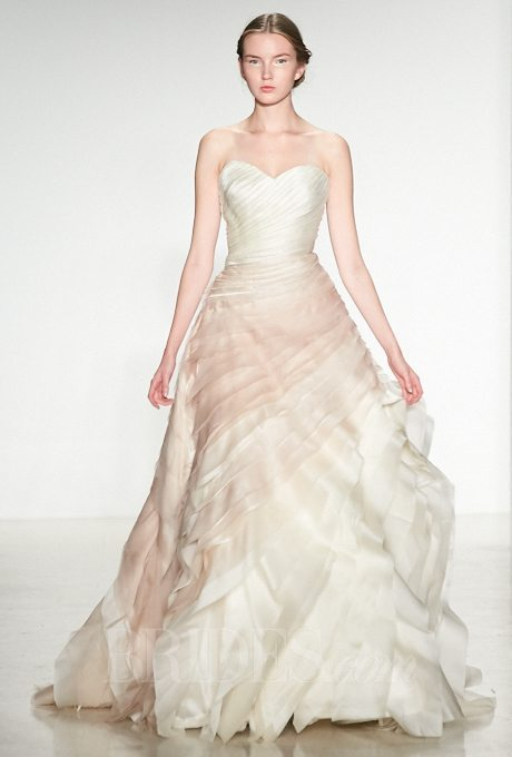 Multi colored wedding gowns with tons of personality i for Multi colored wedding dresses