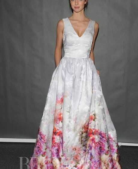Colorful Wedding Gowns