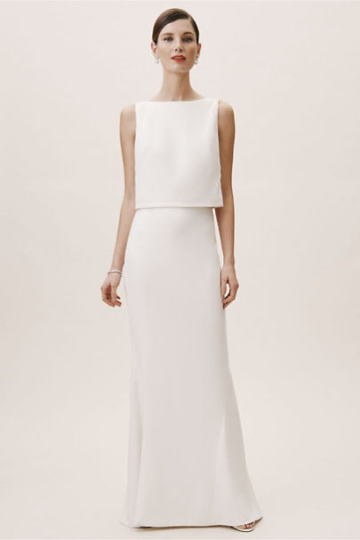 Lady Bird Top & Park Avenue Skirt | BHLDN