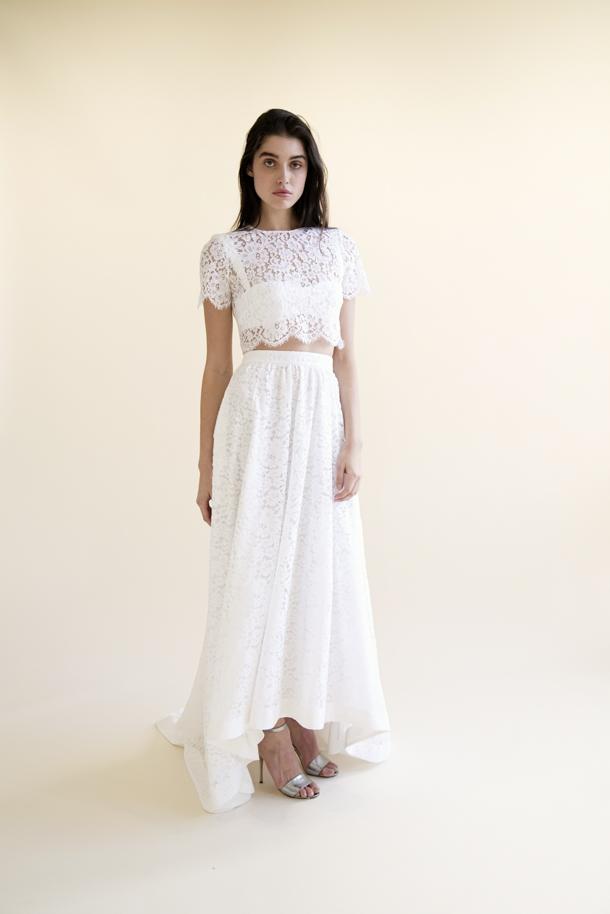 Chloe Top, Madonna Bra, Macabeau Skirt | Houghton NYC