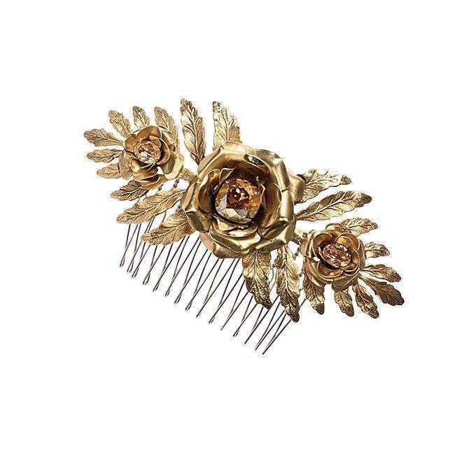 Golden Wedding Hairpieces