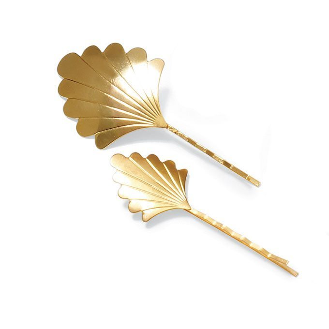 Golden Wedding Hairpieces