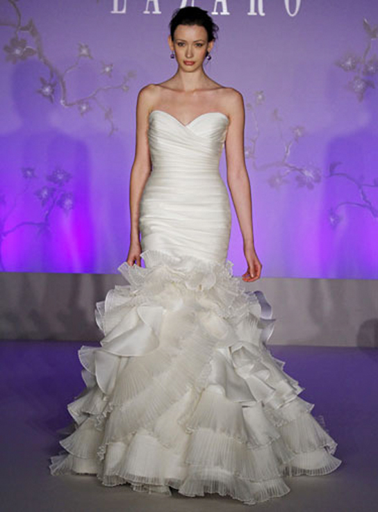 Lazaro LZ3050 wedding dress