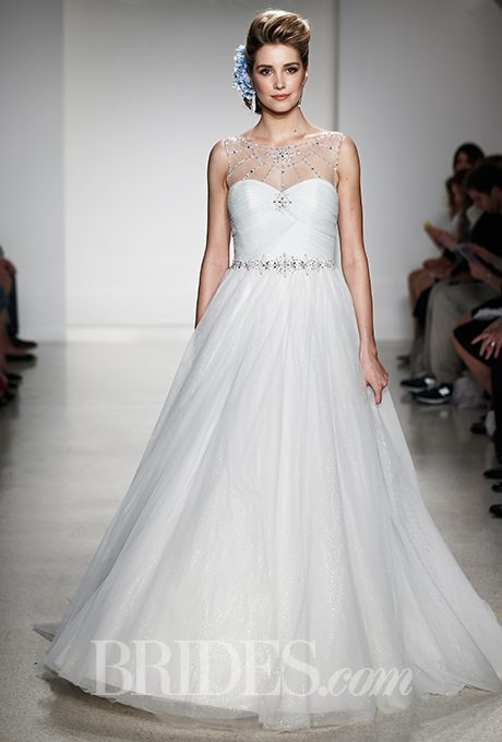Beaded Plus-Size Wedding Gowns