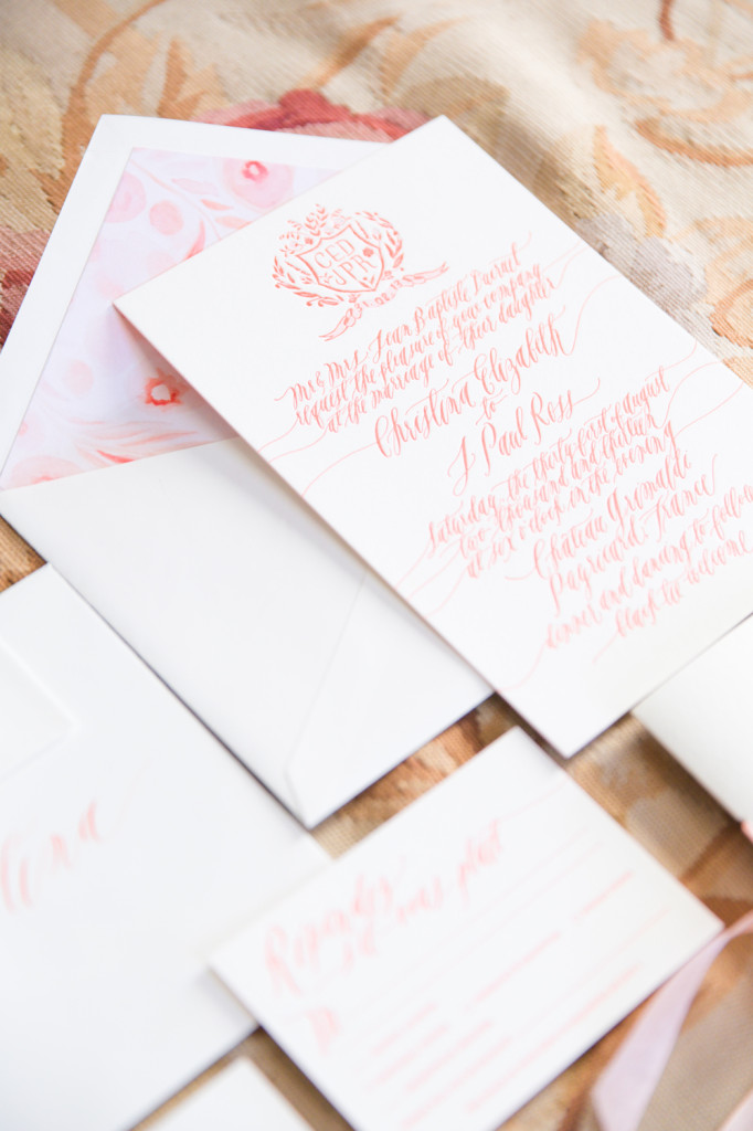 Romantic Wedding Calligraphy Inspiration | PreOwnedWeddingDresses.com