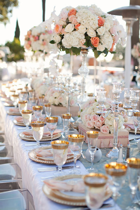 Vintage Glam Tablescapes