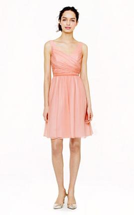 J Crew Heidi Bridesmaid Dress