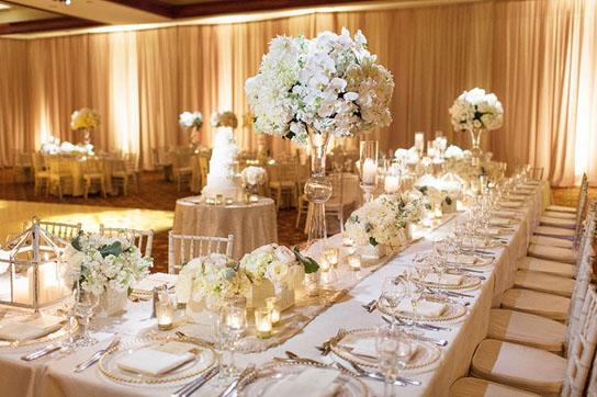 Low Wedding Centerpiece Inspiration Preownedweddingdresses