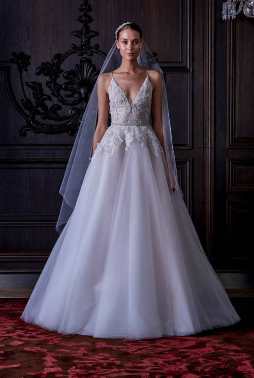 Monique lhuillier spring 2016 bridal preowned wedding for Monique lhuillier bridal designers