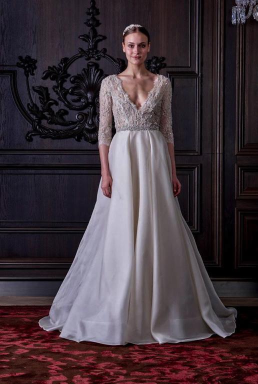 Monique Lhuillier Spring 2016 Bridal PreOwned Wedding Dresses