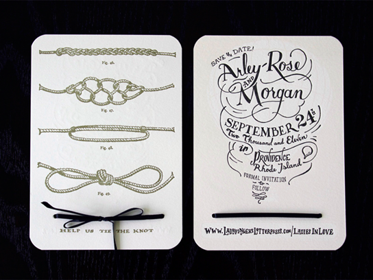 ladyfingers letterpress