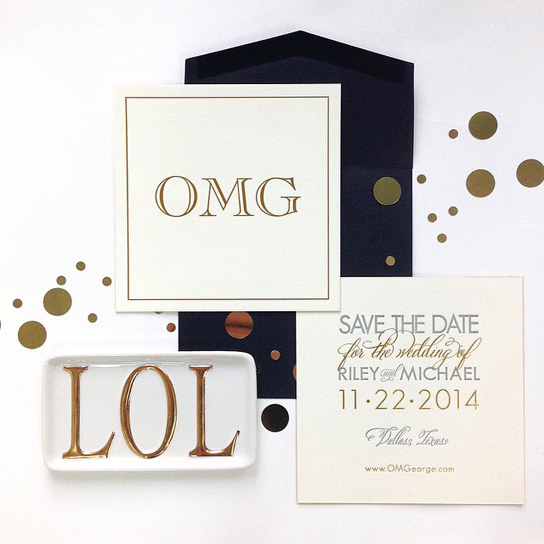 Fun Save the Date Designs | PreOwnedWeddingDresses.com