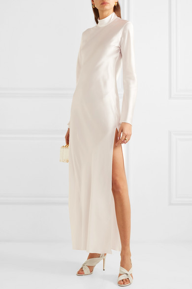 Silk-Satin Gown | Michael Lo Sordo