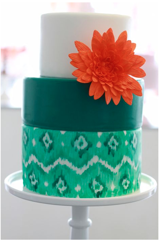 Colorful Wedding Cakes | PreOwnedWeddingDresses.com