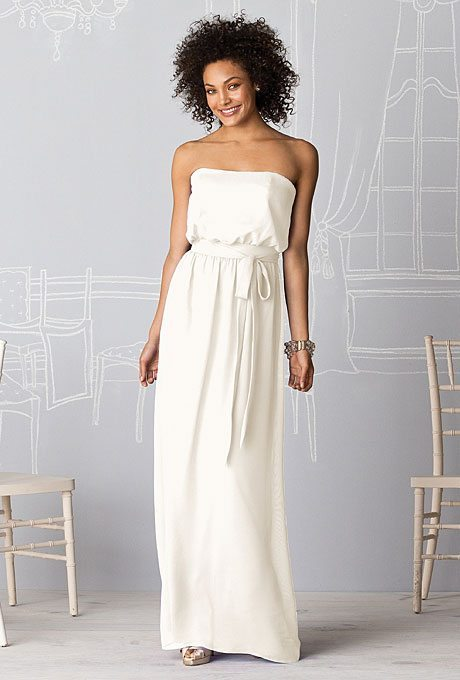 Simple Maid of Honor Dresses