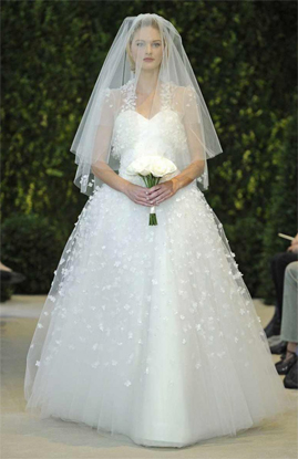Carolina Herrera Abigail wedding dress