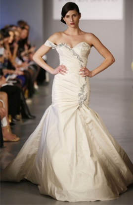 Ines Di Santo Berenice wedding dress