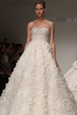 Kenneth Pool Liliah wedding dress