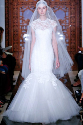 Reem Acra Adore wedding dress