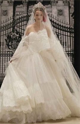 Reem Acra Best Wishes wedding dress