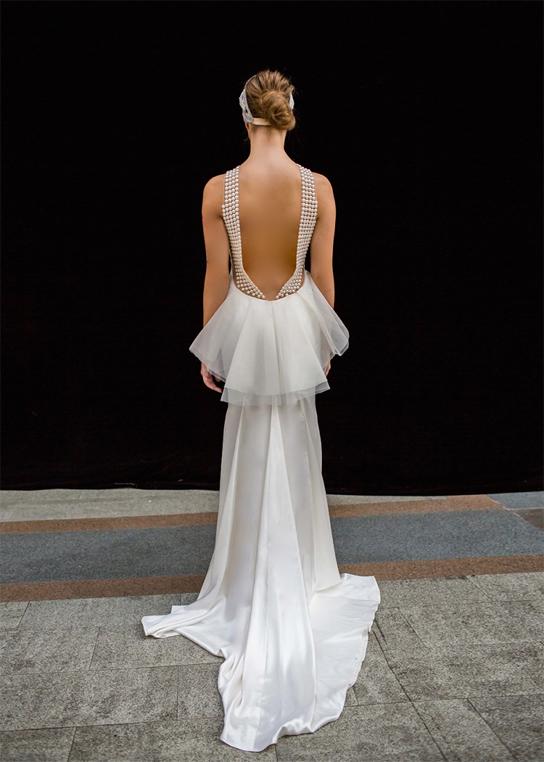 Zahavit Tshuba Lola wedding dress