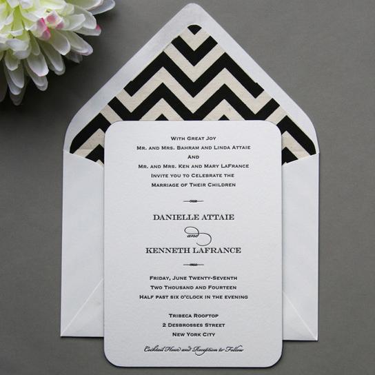 Chic, Stylish Wedding Invitation Inspiration | PreOwned Wedding ...