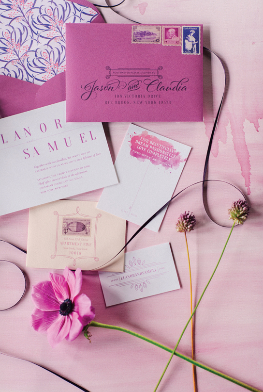 Chic, Stylish Wedding Invitation | PreOwnedWeddingDresses.com
