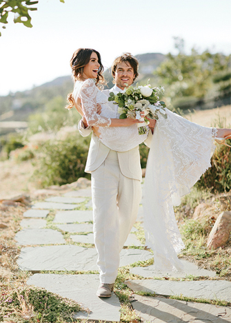 Nikki-Reed-Claire-Pettibone-Wedding-Dress